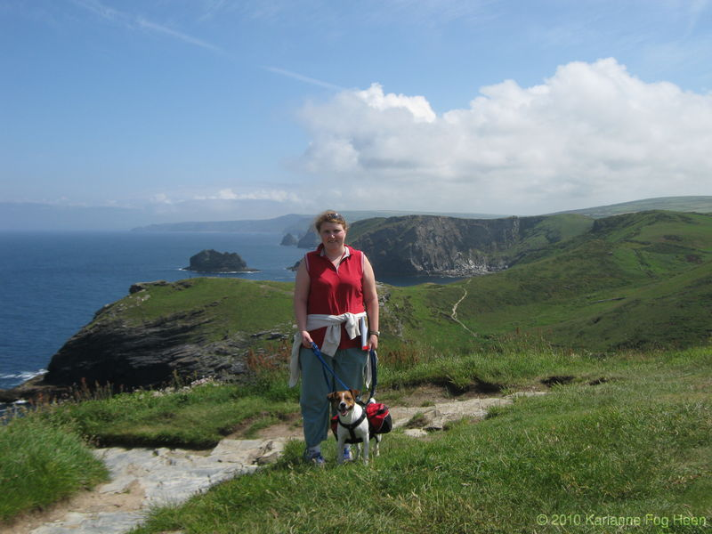 K and Odin on Tintagel