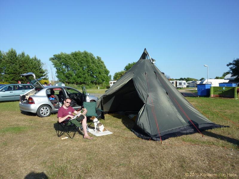 Camping boys
